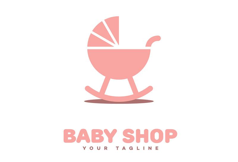 Mẫu thiết kế logo shop quần áo trẻ em