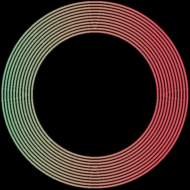 Mẫu trang trí hình tròn