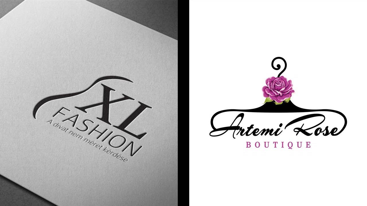 Những mẫu logo shop quần áo đẹp