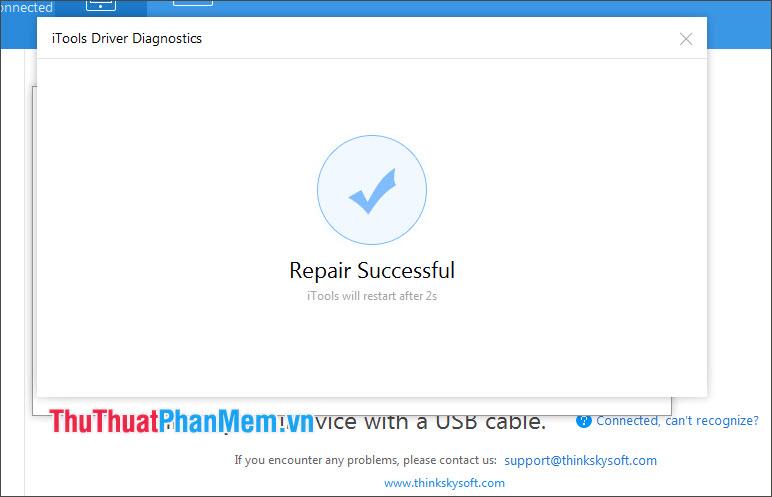 Repair Successful