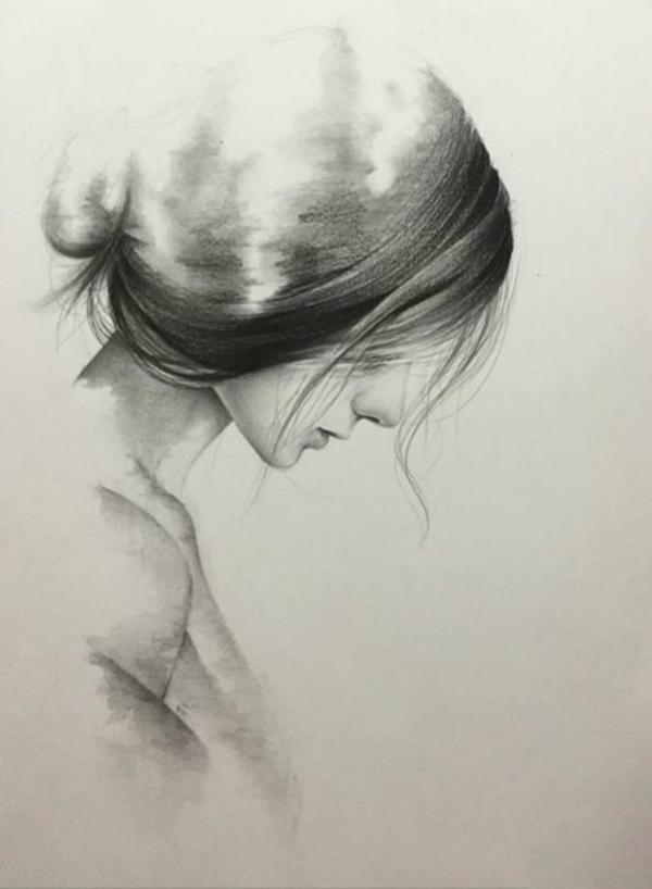 Tranh chân dung vẽ chì