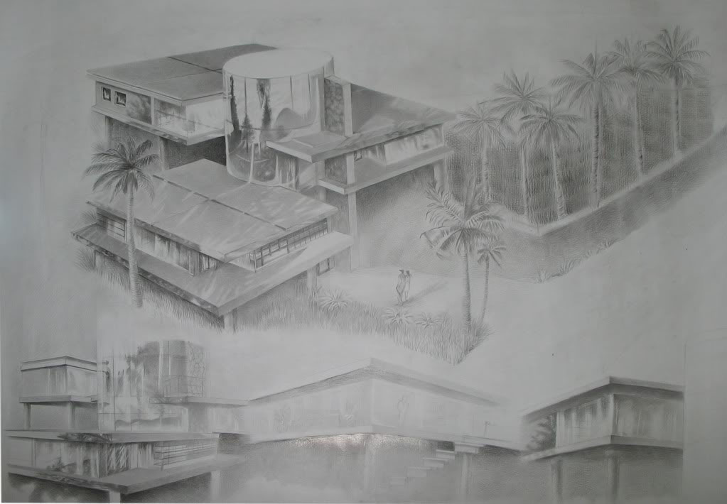 Tranh nghệ thuật vẽ chì