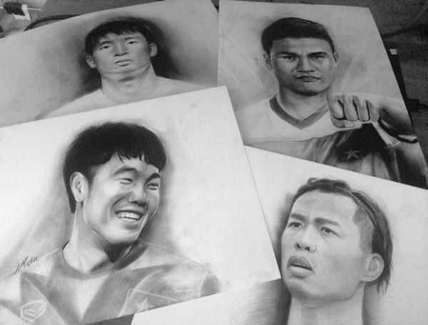 Vẽ tranh người nổi tiếng bằng chì