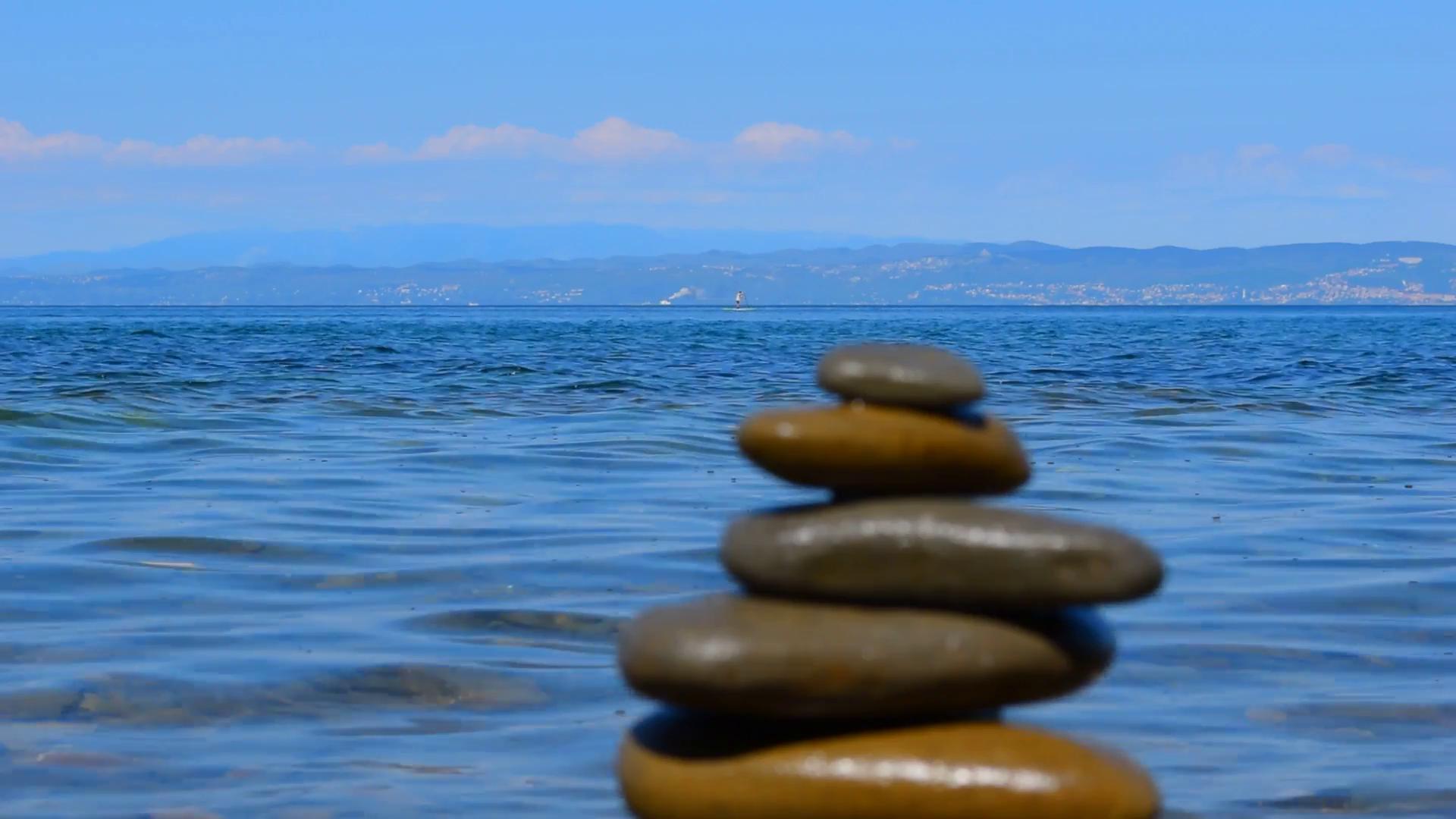 Ảnh Background biển đá đẹp