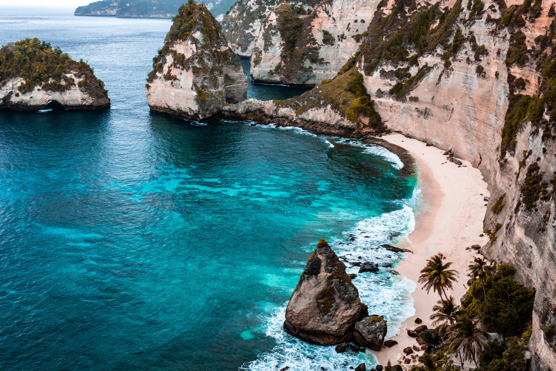 Ảnh Background núi biển đẹp