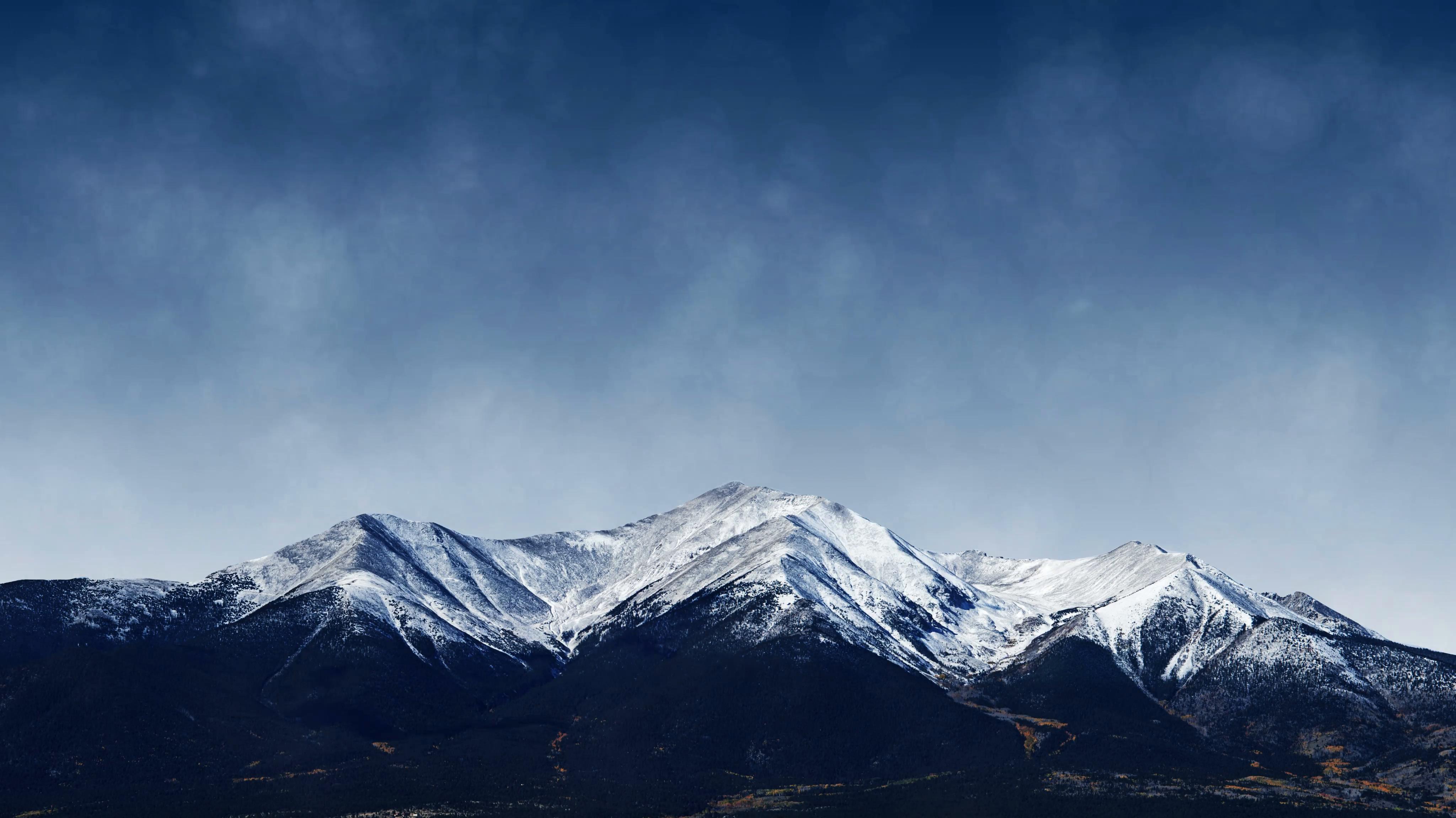 Ảnh Background núi tuyết đẹp