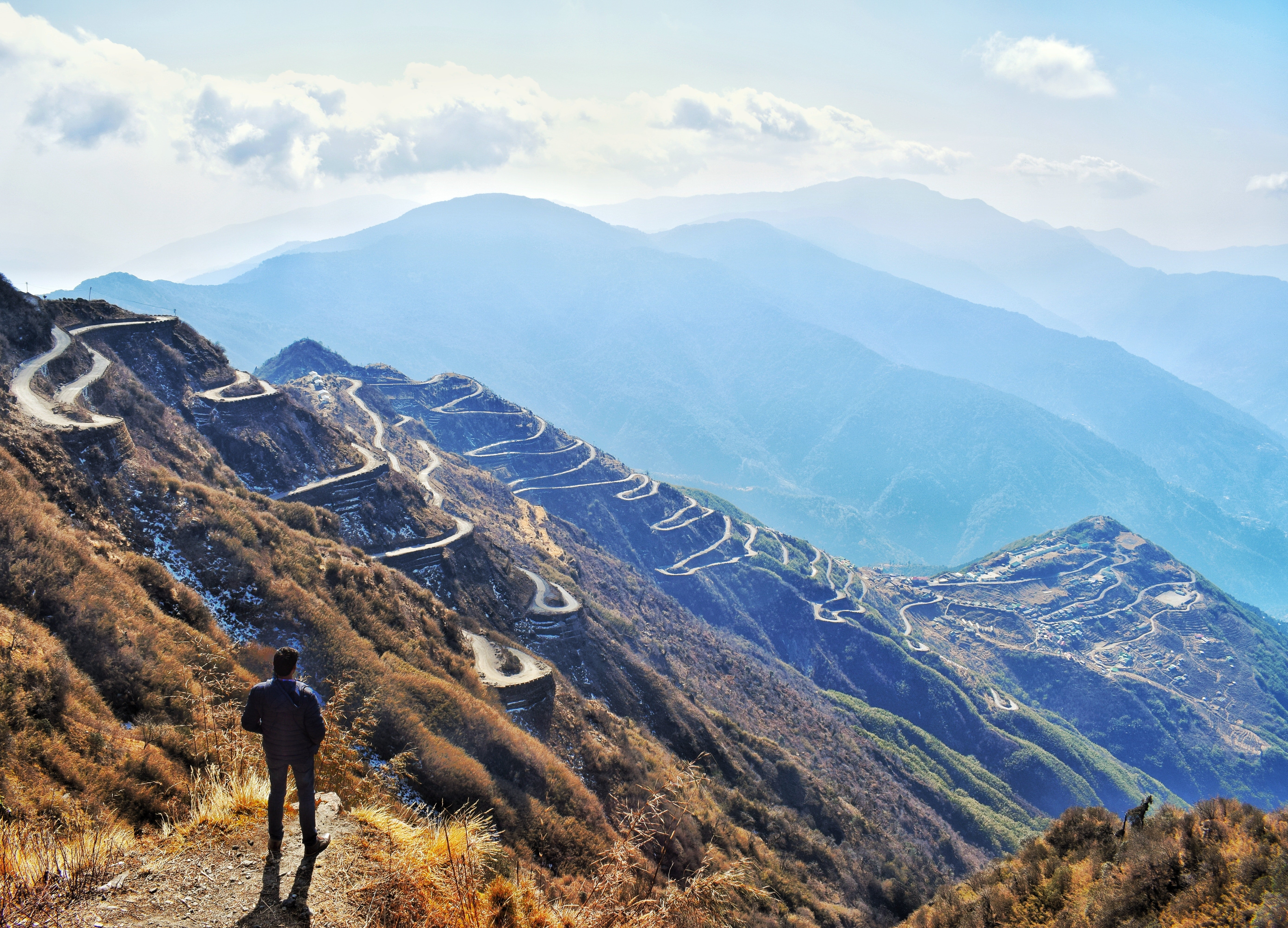 Ảnh Background phogn cảnh núi đẹp