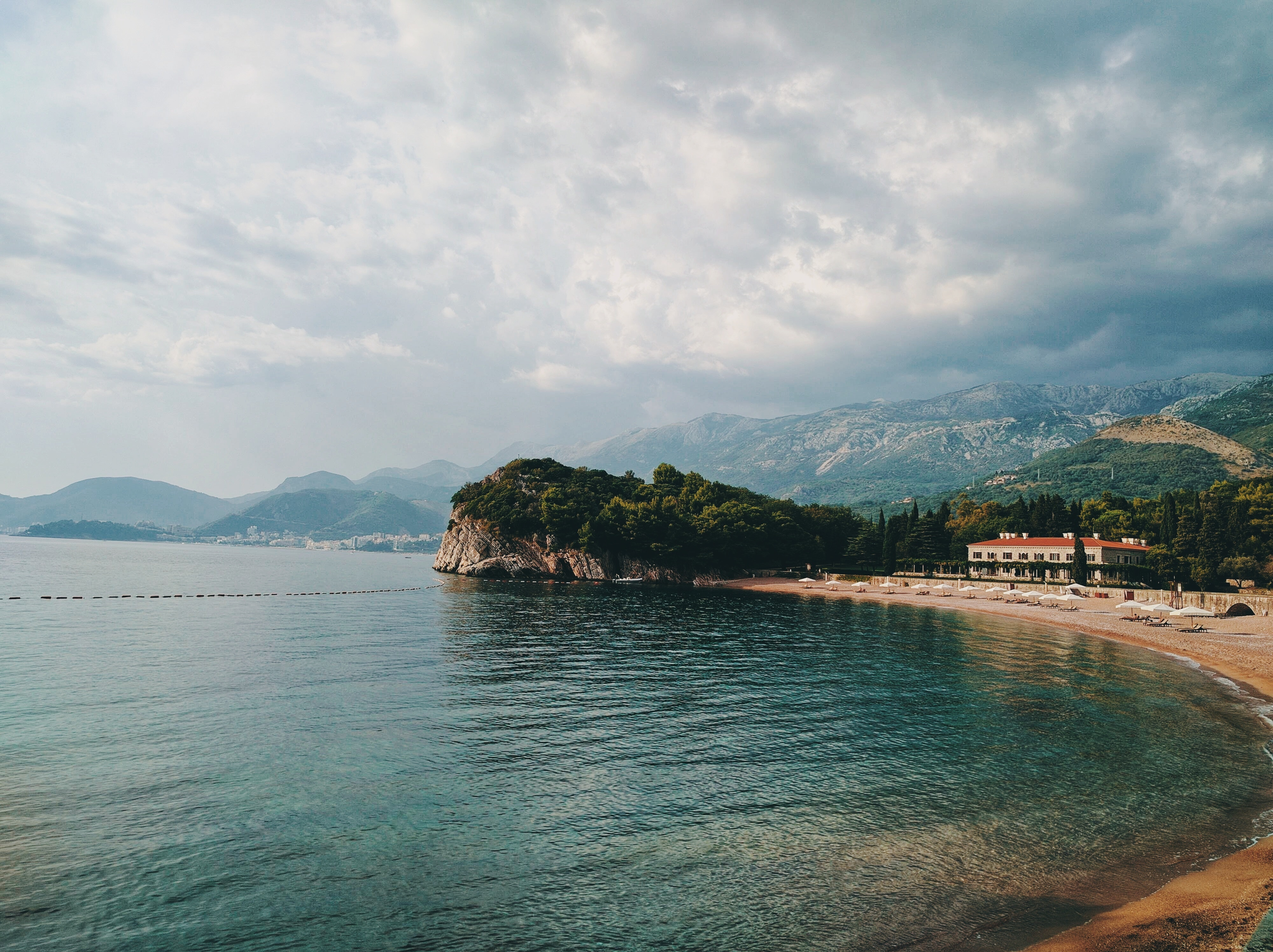 Ảnh Background phong cảnh bãi biển đẹp