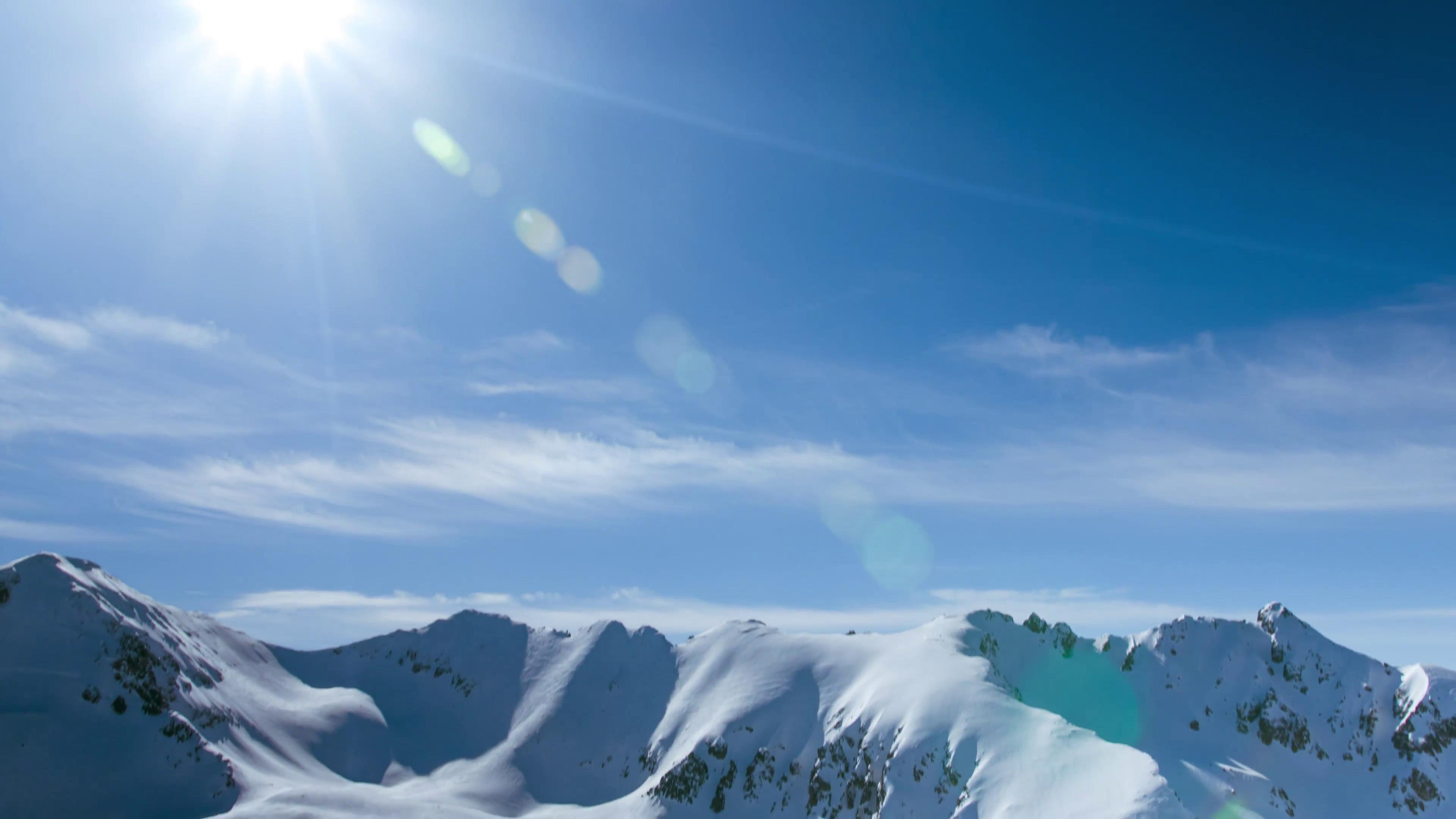 Ảnh Background phong cảnh núi tuyết đẹp