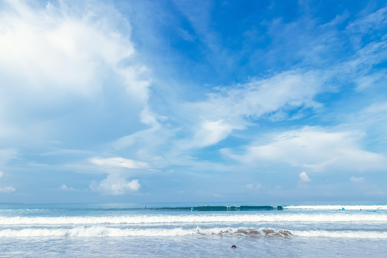 Ảnh Background phong cảnh trời xanh