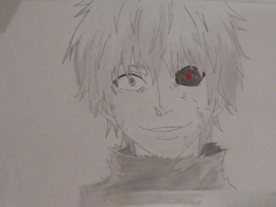 Ảnh vẽ Tokyo ghoul