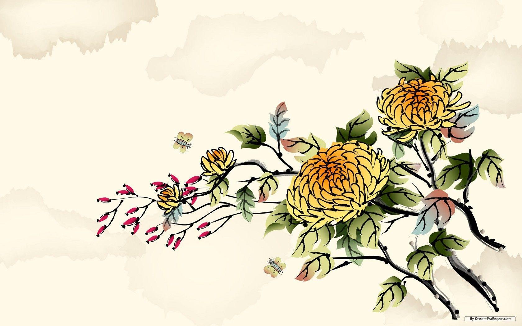 Background cổ trang Trung Quốc cực đẹp
