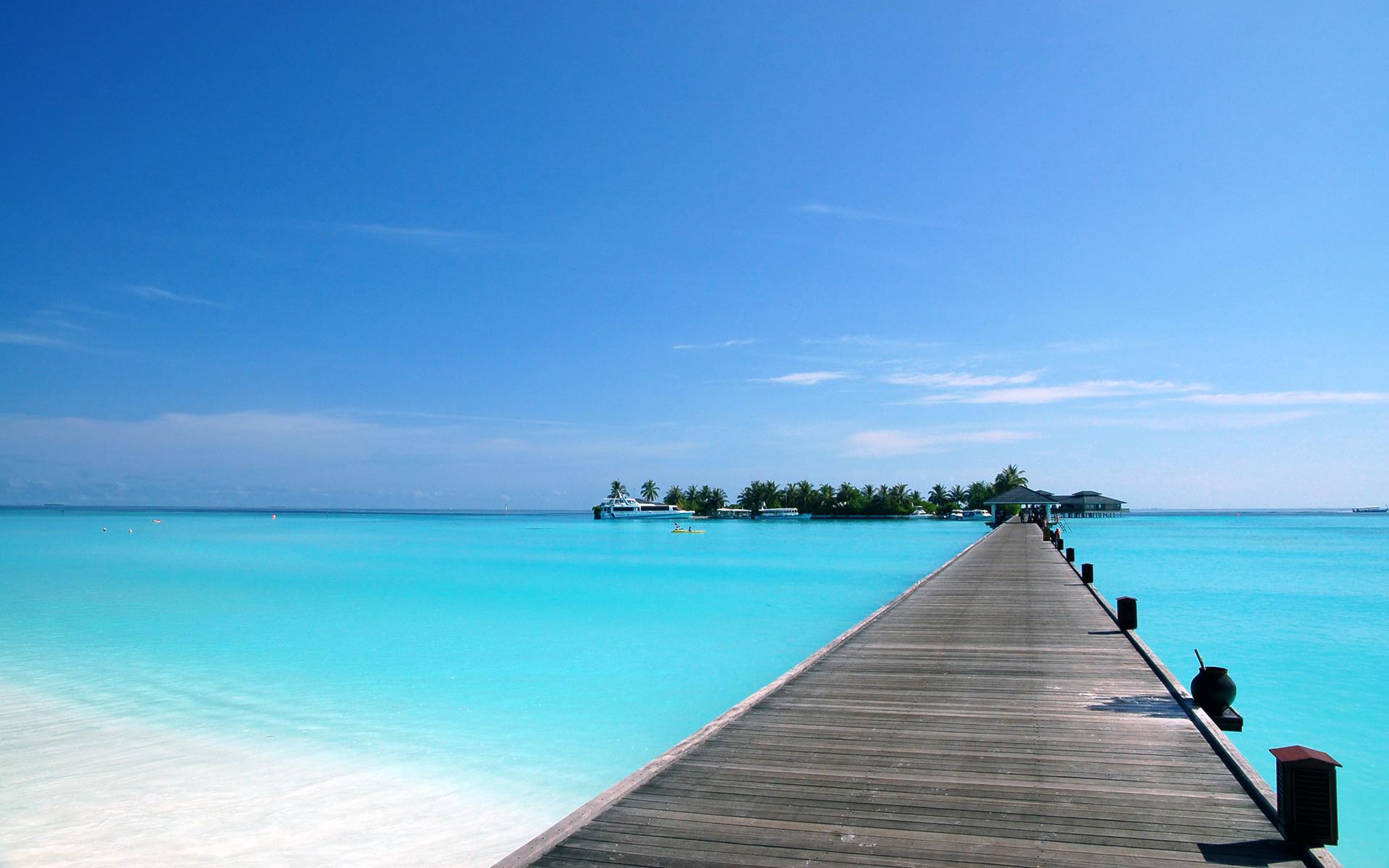 Background phong cảnh biển xanh cực đẹp