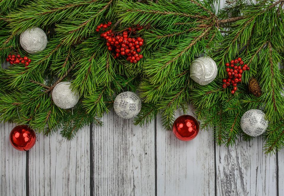 Background quảng cáo dịp giáng sinh