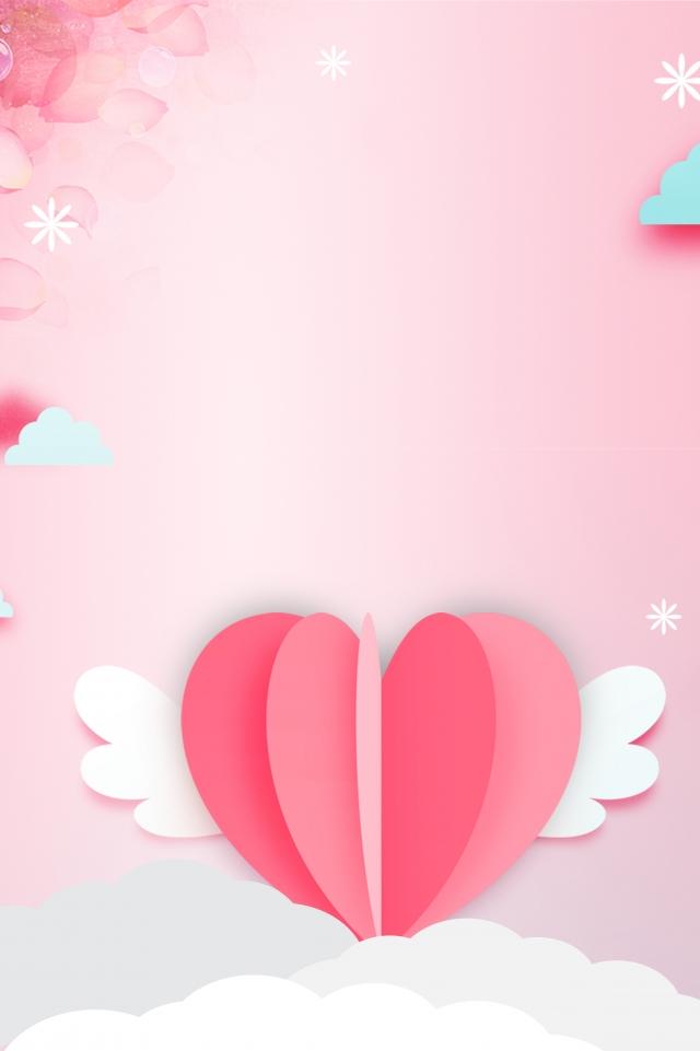 Background quảng cáo tình yêu