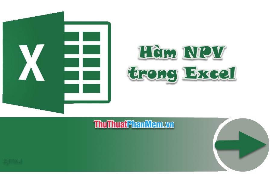 Cách tính NPV trong Excel