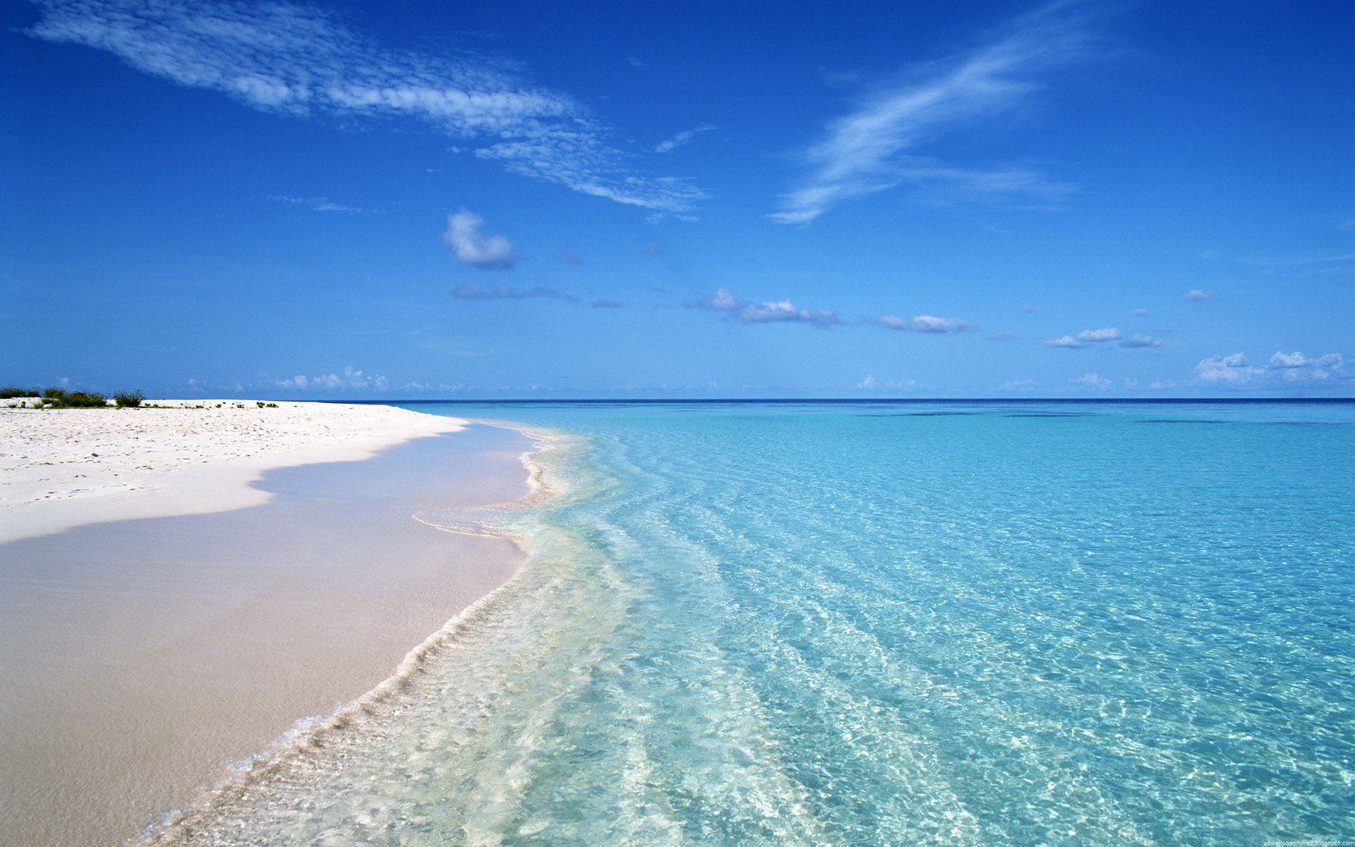 Hình Background phong cảnh trời xanh cát vàng