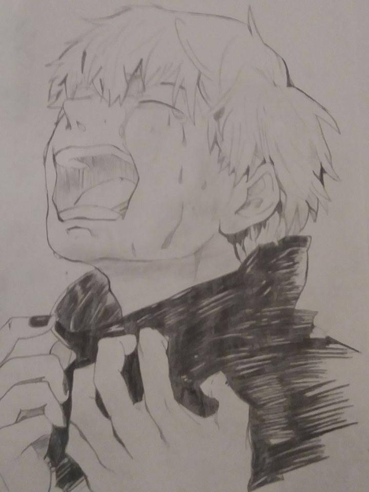 Hình vẽ bút chì Tokyo ghoul