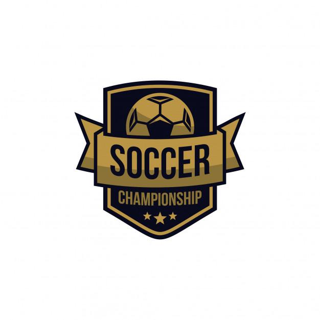 Logo bóng đá 3D đơn giản