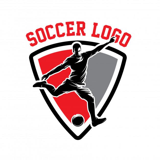 Mãu Logo bóng đá đơn giản đẹp