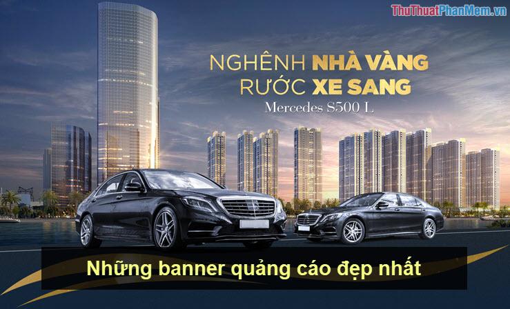 Những banner quảng cáo đẹp nhất