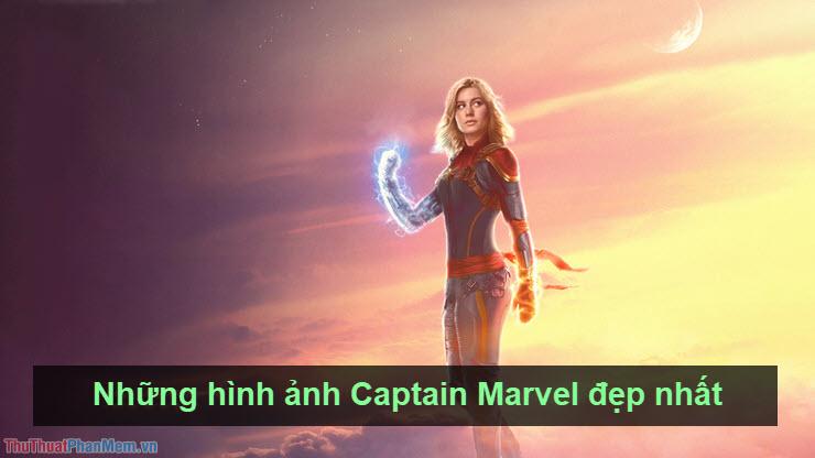 Những hình ảnh Captain Marvel đẹp nhất