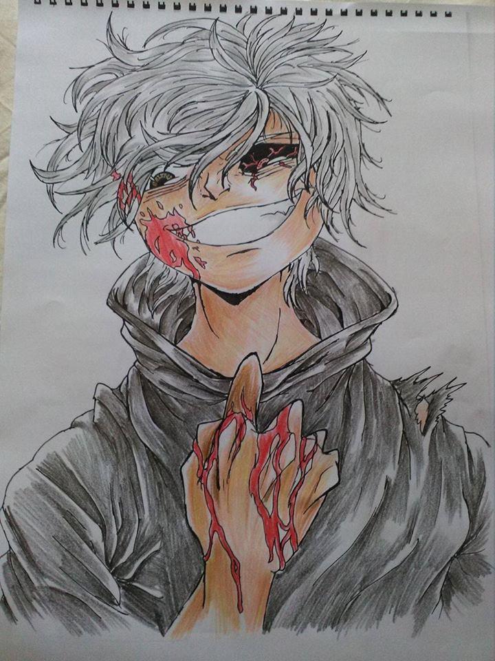 Tranh vẽ Tokyo ghoul