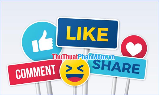 Trên Facebook thì TT là các hành động thể hiện sự quan tâm đến một bài viết