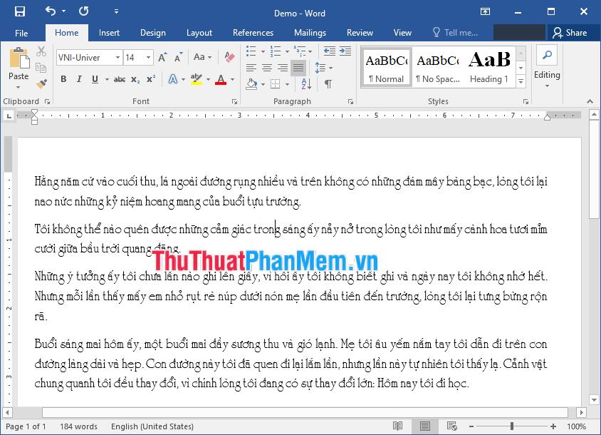 Cách sửa lỗi font chữ trong Word khi tải tài liệu trên mạng