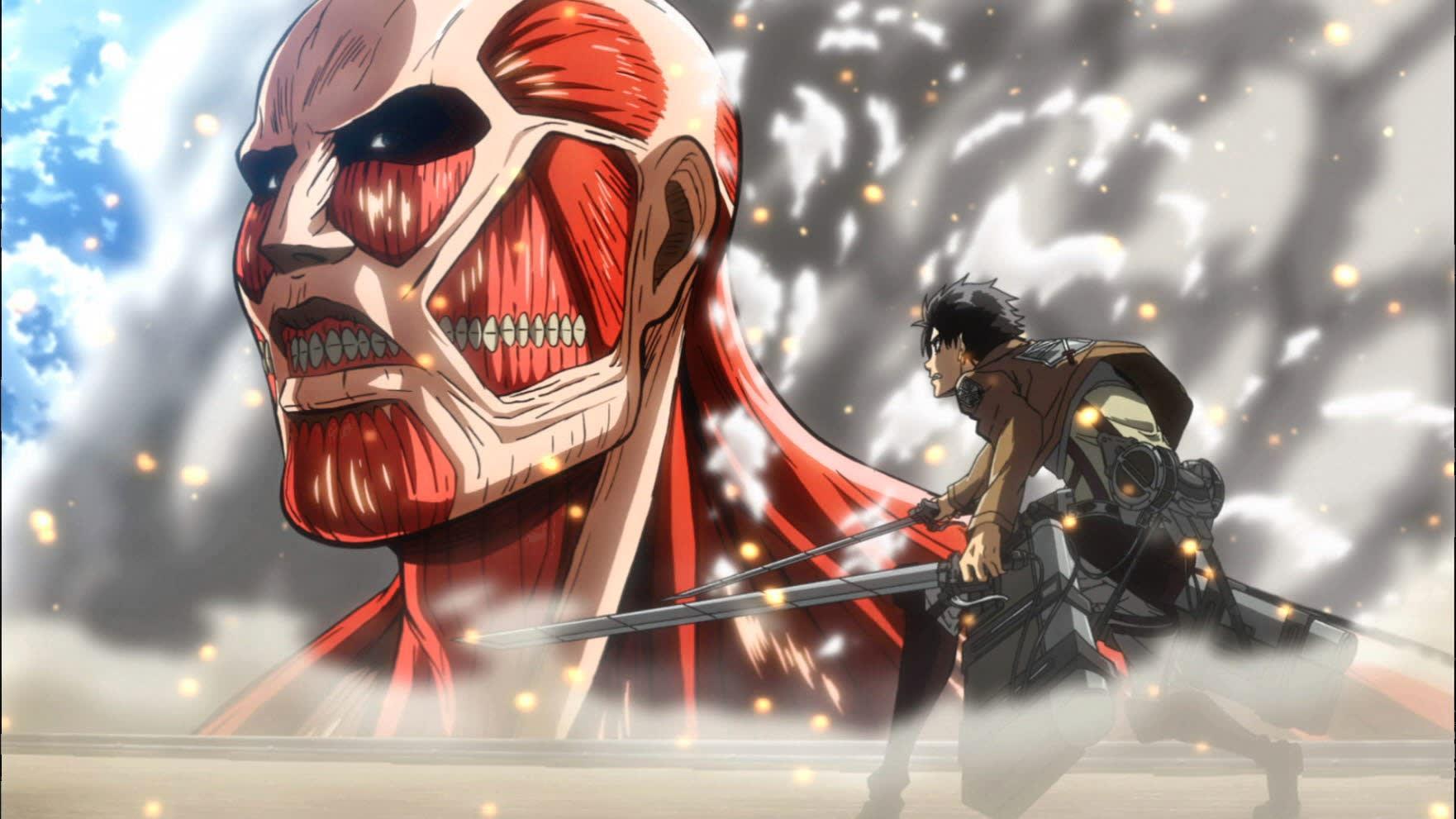 Ảnh Attack on titan đẹp