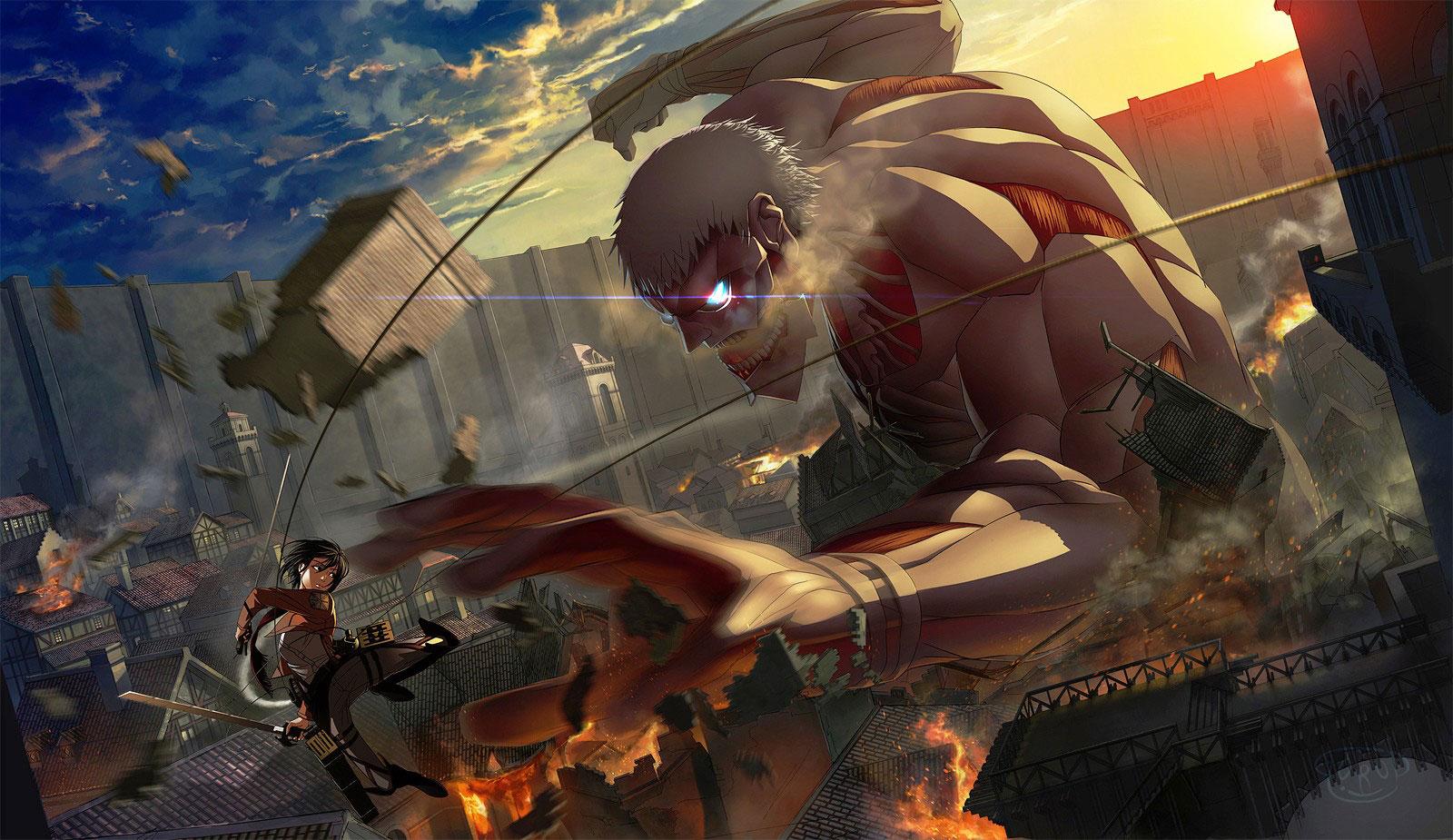 Ảnh Attack on titan imba