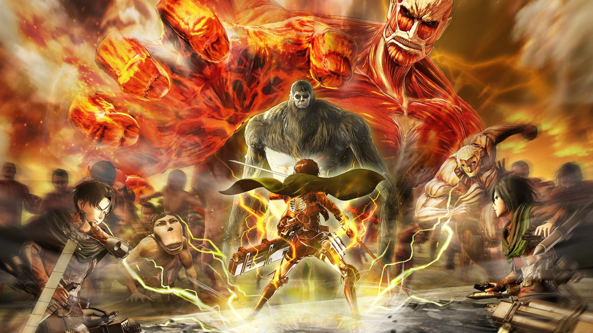 Ảnh bìa Attack on titan