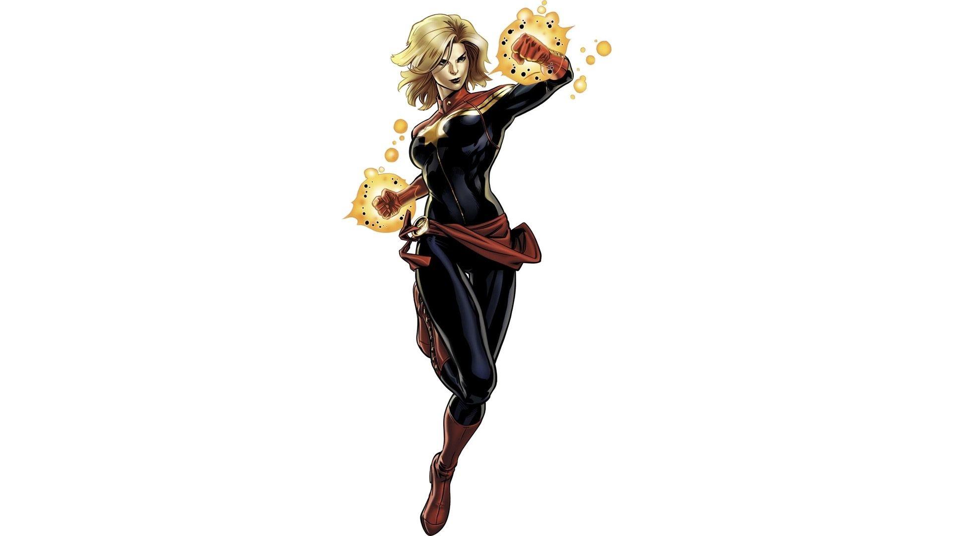 Ảnh Captain Marvel đẹp nhất