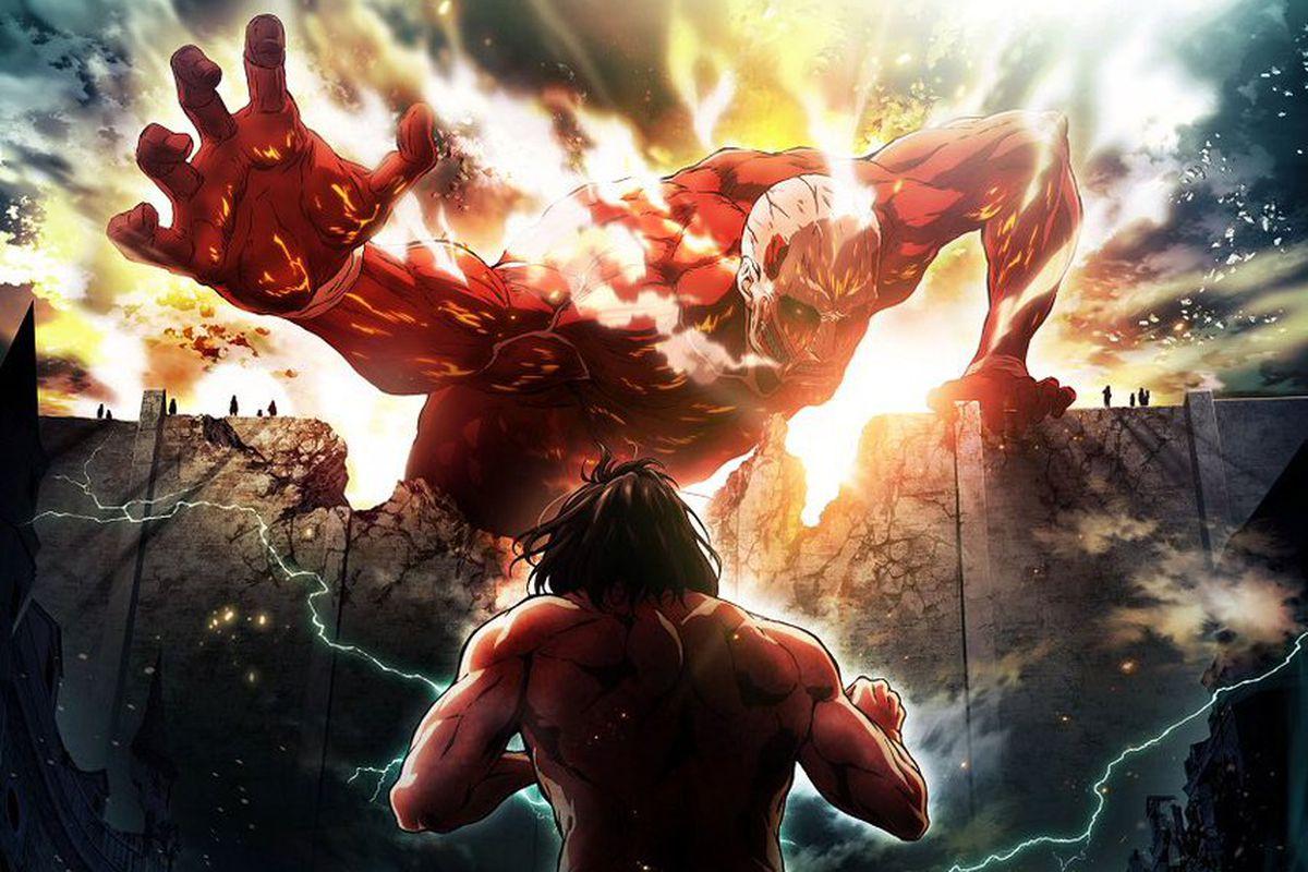 Ảnh đại chiến Attack on titan