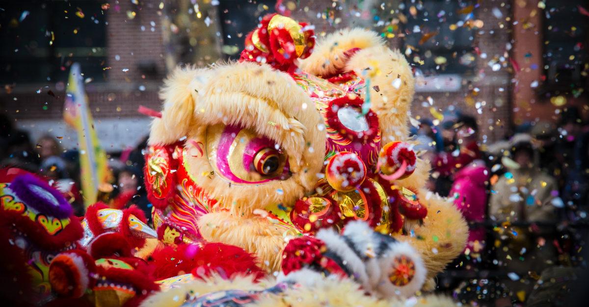 Ảnh múa Lân Trung Quốc