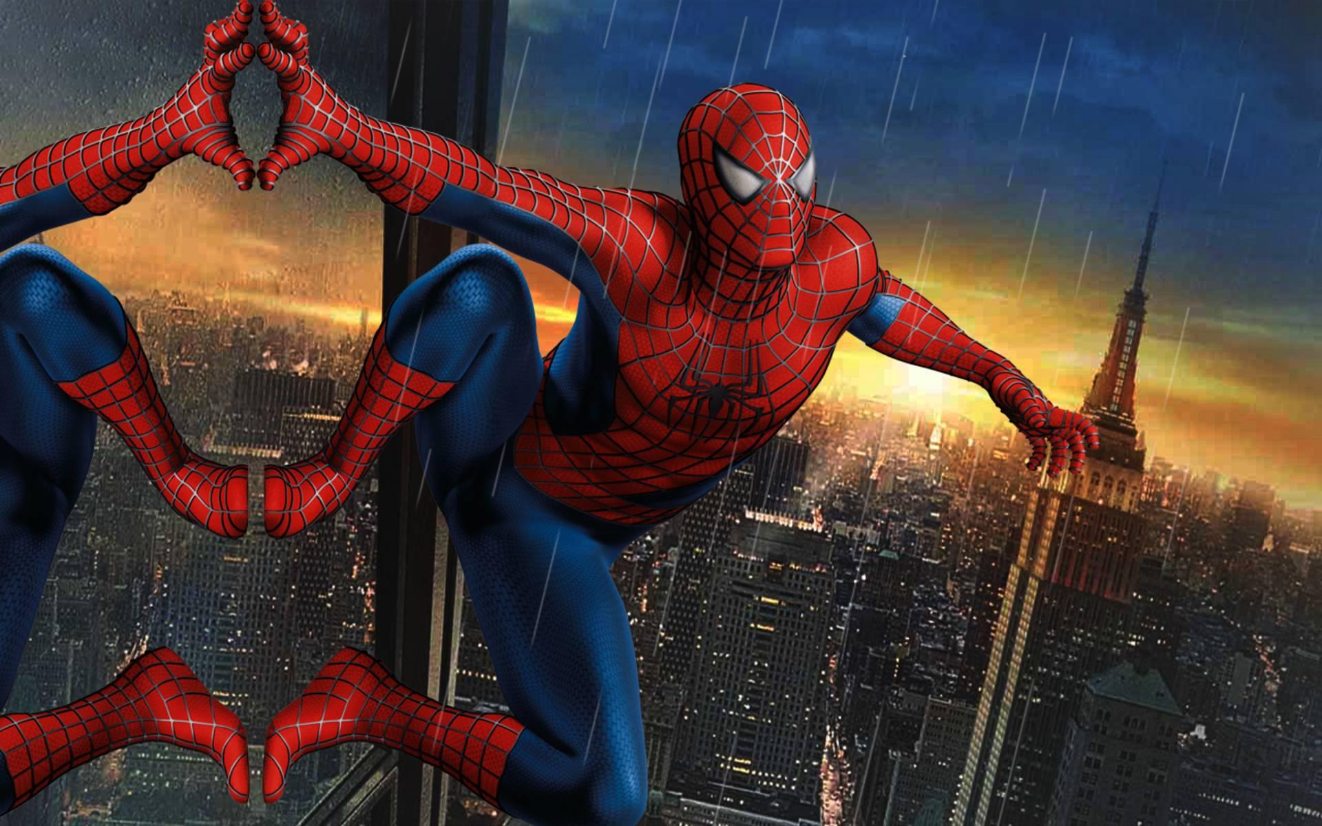 Ảnh người nhện đẹp nhất