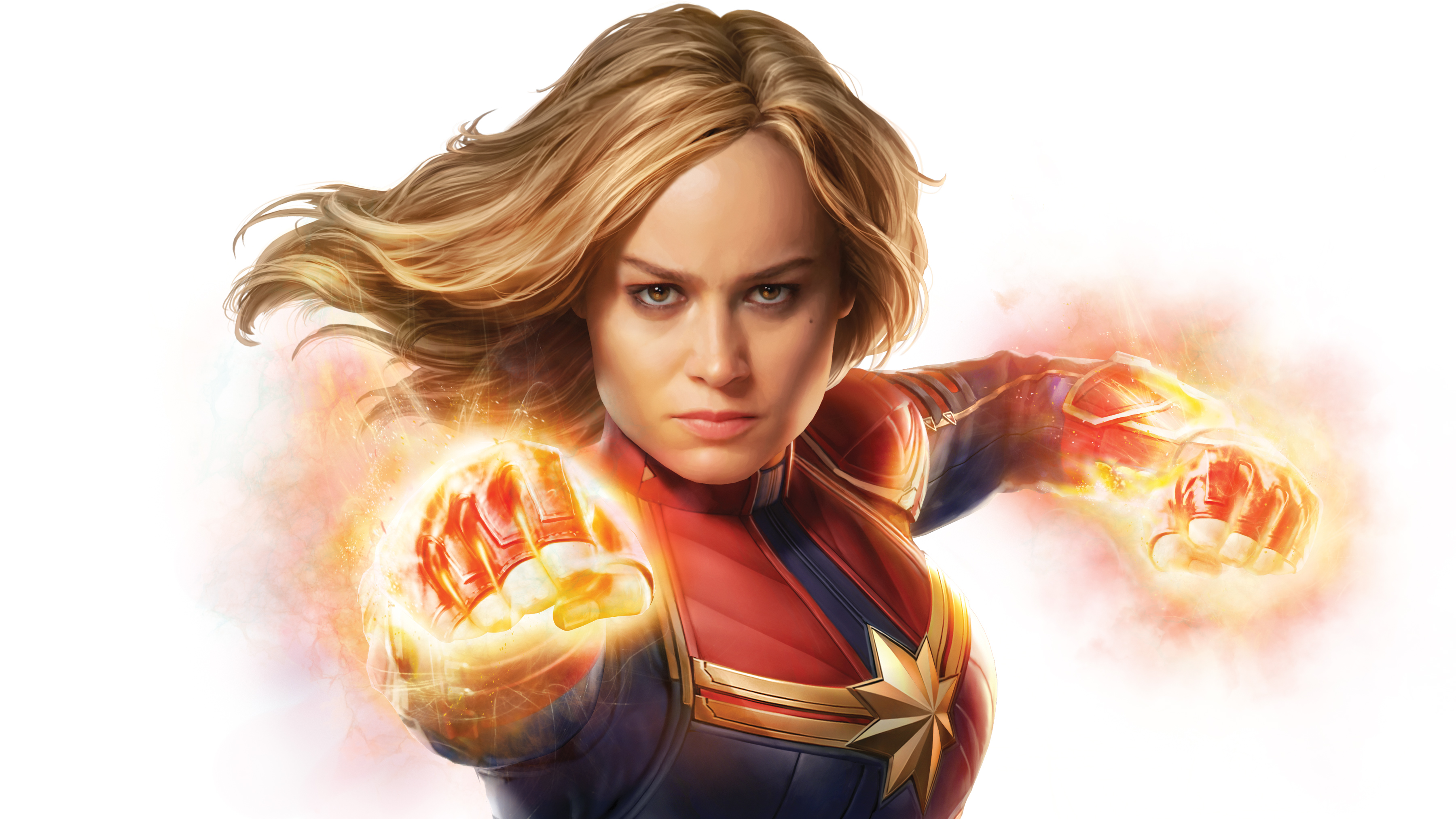 Ảnh nữ chiến binh Captain Marvel đẹp