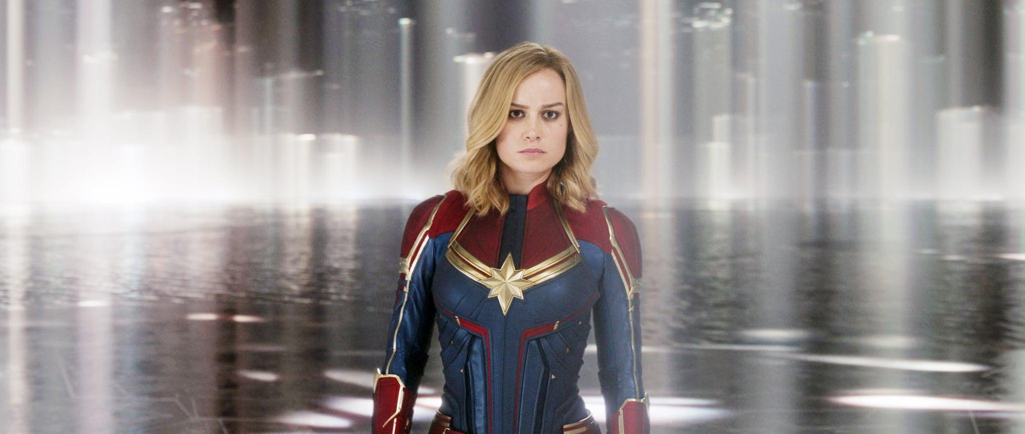 Ảnh nữ chính Captain Marvel