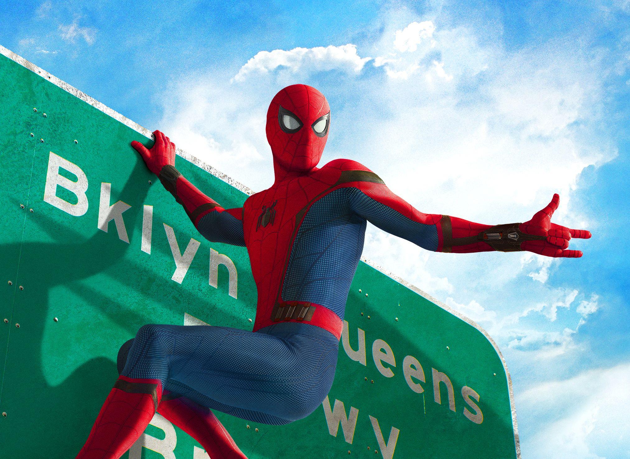 Ảnh Spider Man bay nhảy đẹp nhất