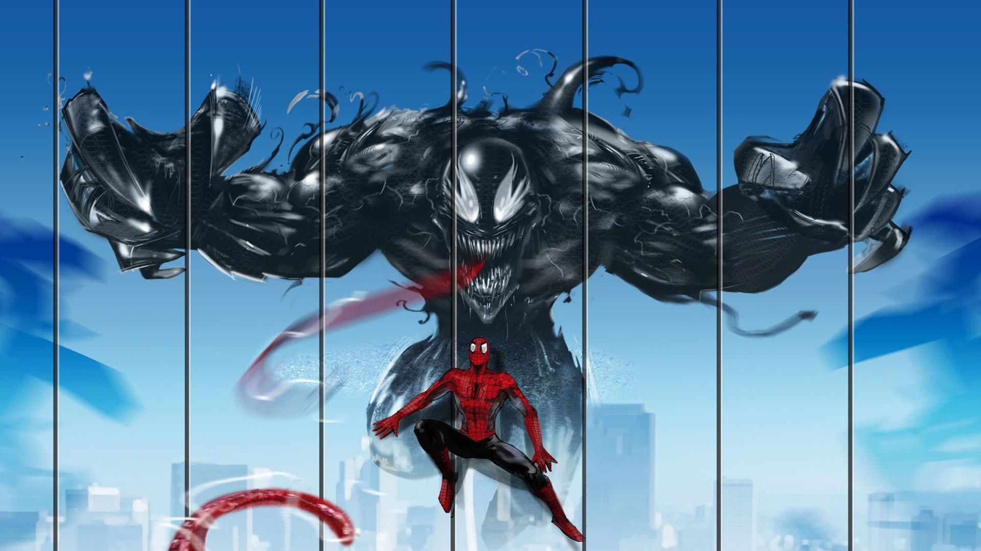 Ảnh Spider Man đánh nhau