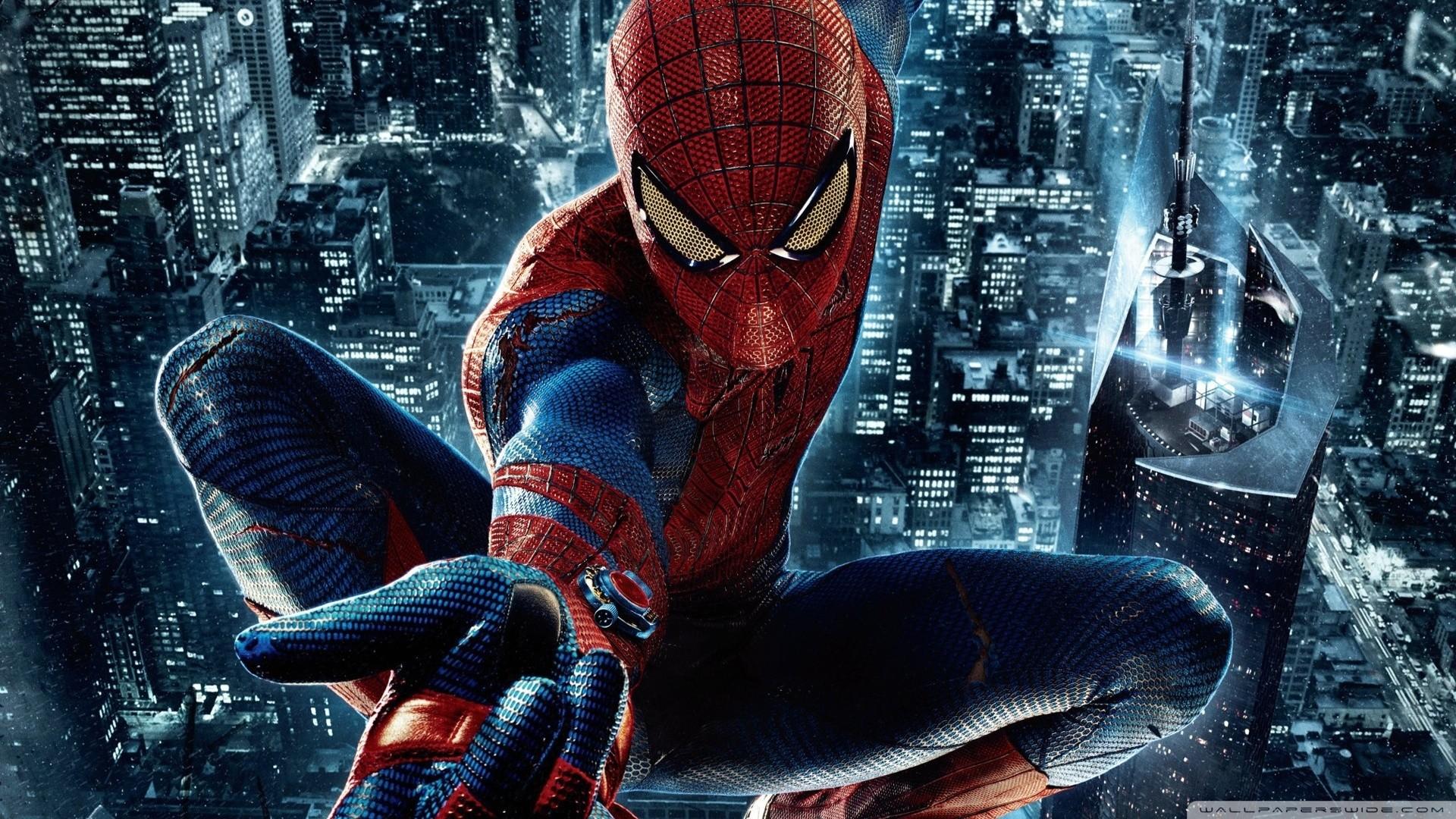 Ảnh Spider Man nhảy nhót