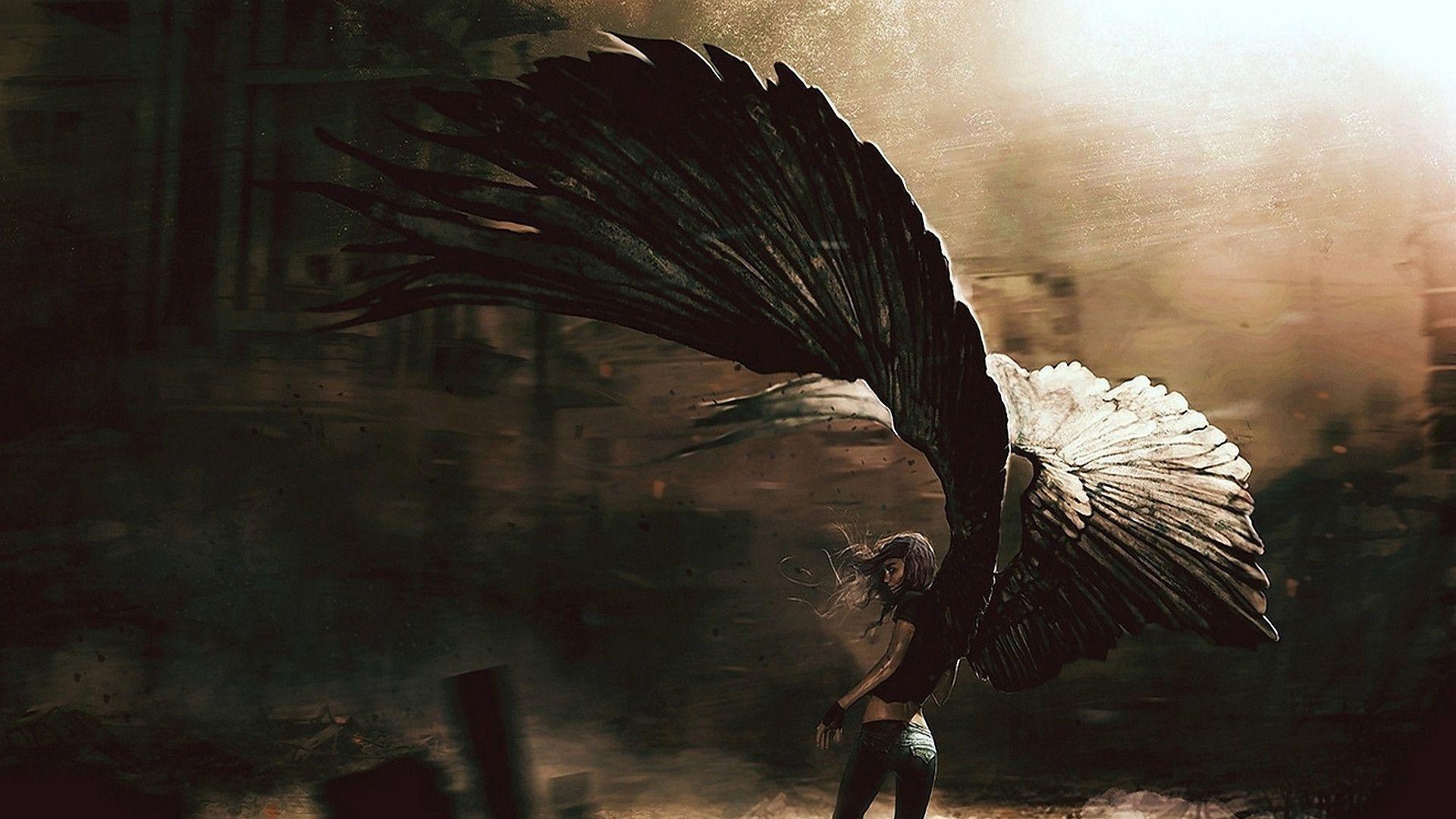 Ảnh thiên thần sa ngã
