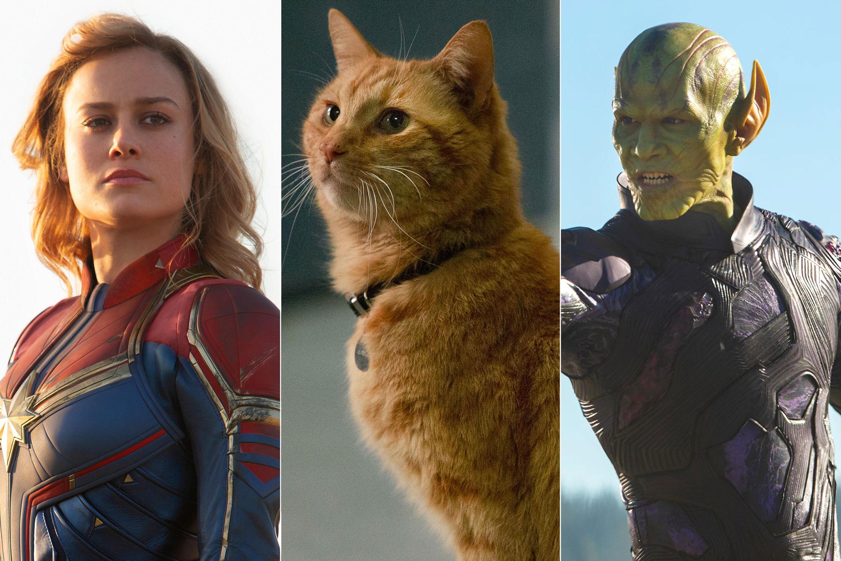 Captain Marvel đẹp nhất