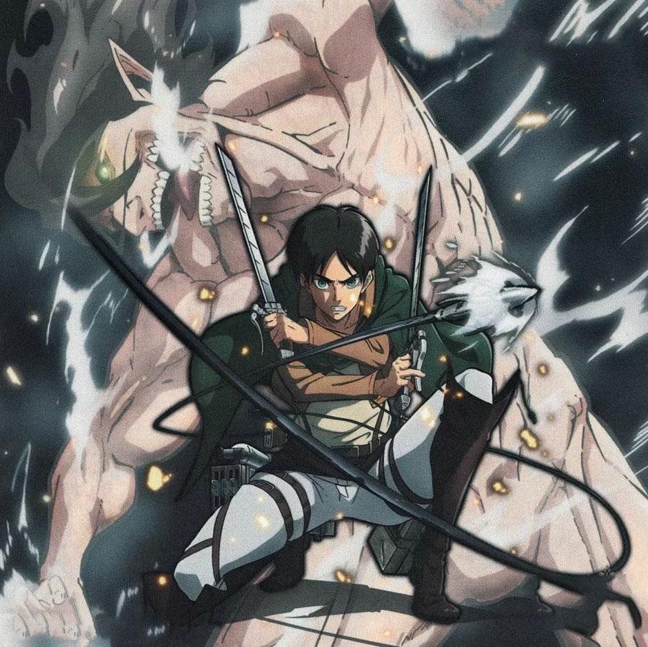 Hình ảnh anime Attack on titan ngầu
