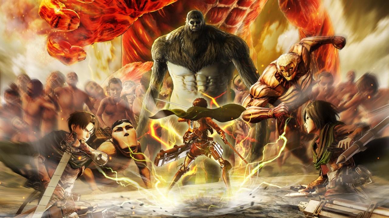 Hình ảnh anime Attack on titan