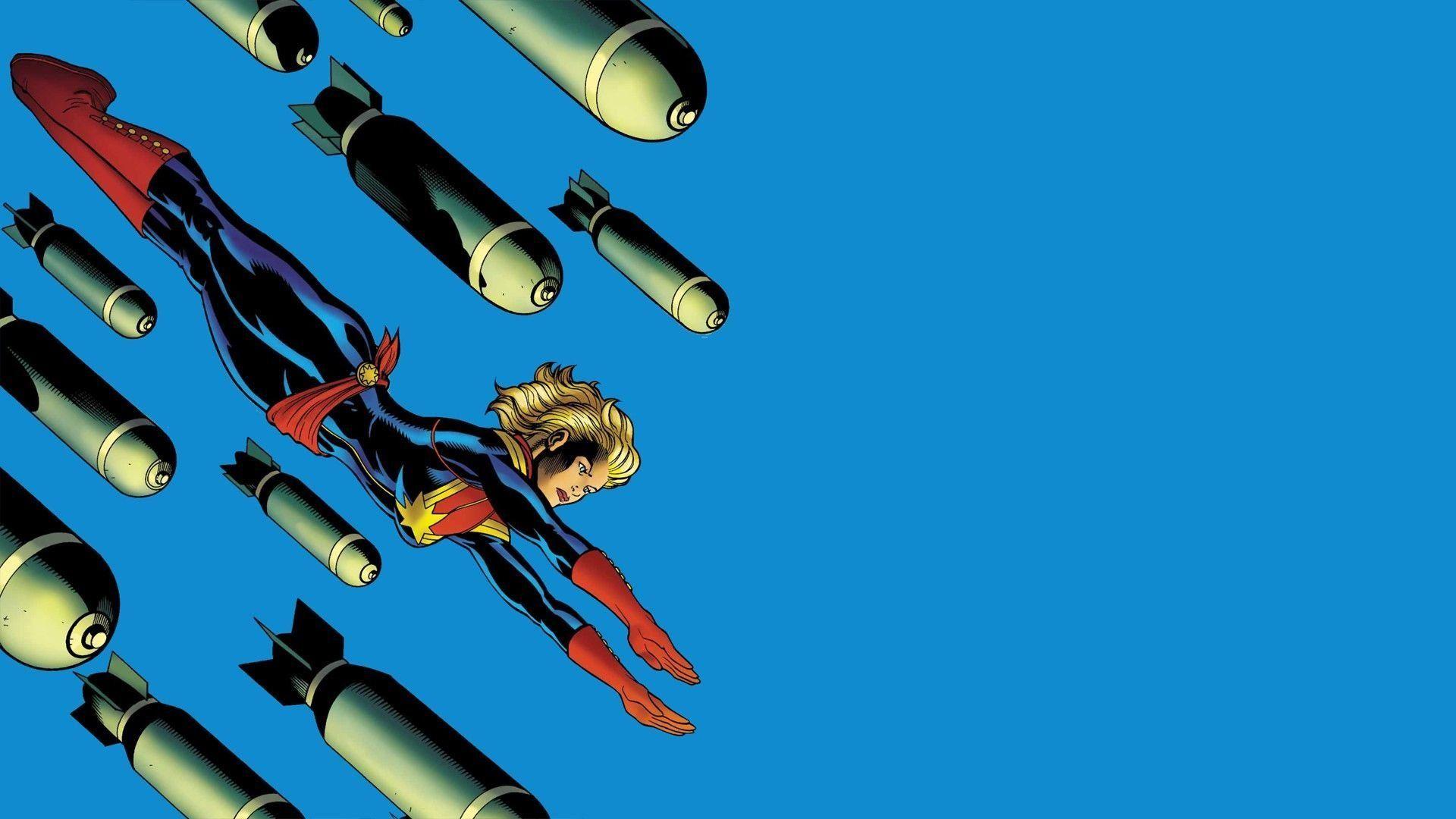 Hình ảnh Captain Marvel đẹp nhất