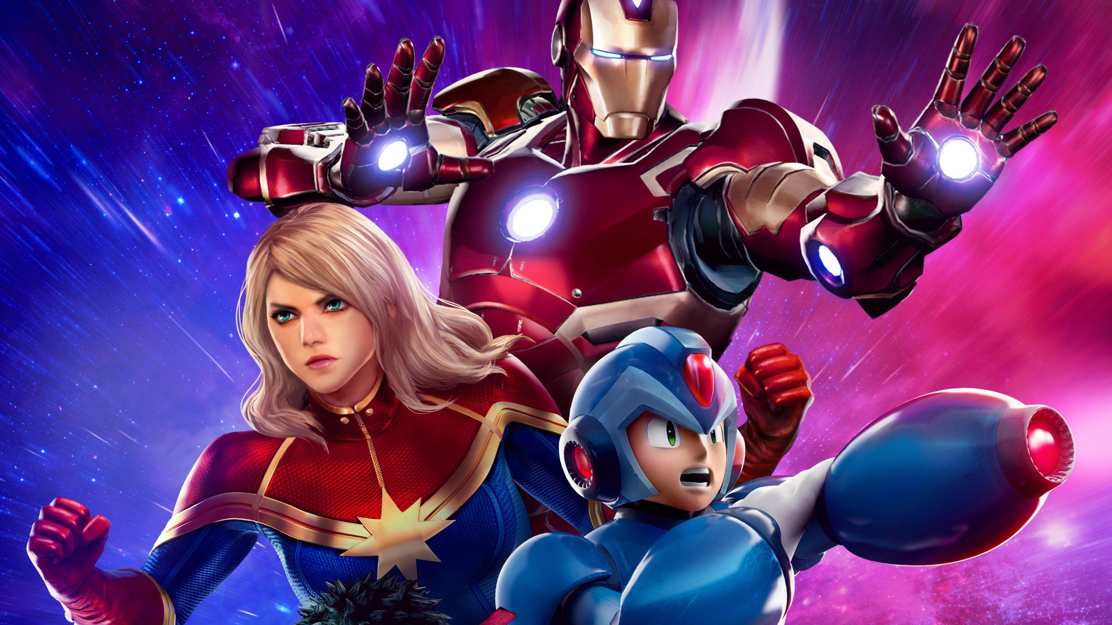 Hình ảnh Captain Marvel đẹp