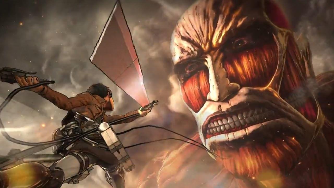 Hình ảnh đại chiến Attack on titan