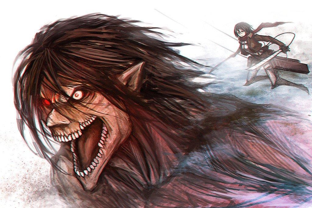 Hình ảnh eren Attack on titan