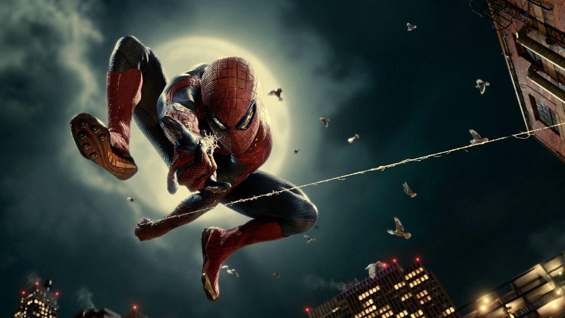 Hình ảnh người nhện bay nhảy
